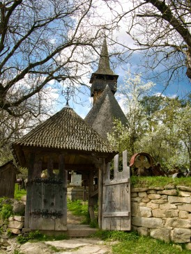 Ieud Wooden Church