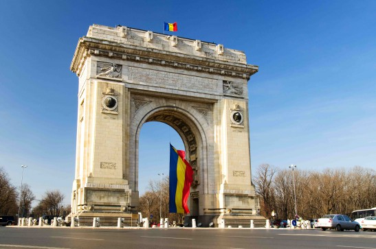 Bucharest, Triumph Arch