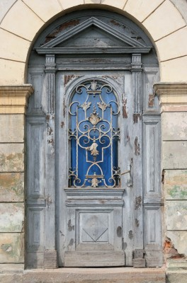 Sighisoara - Old Door