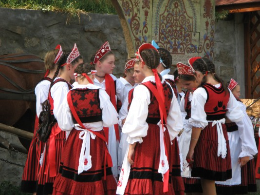 Harghita traditional costumes