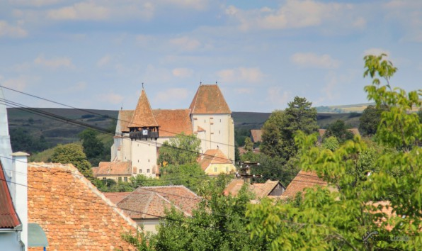 Bazna - Saxon village with fortified church